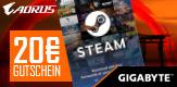 20 Euro sparen mit der GIGABYTE Steam-Promo!