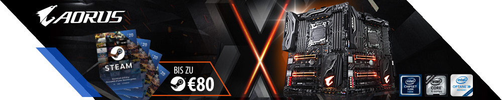 GIGABYTE X299 STEAM Promo