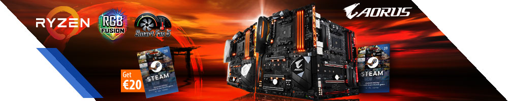 GIGABYTE STEAM-Promo AM4