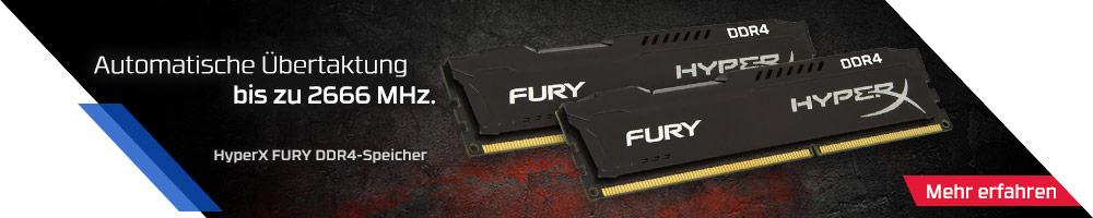 HyperX FURY DDR4-Speicher